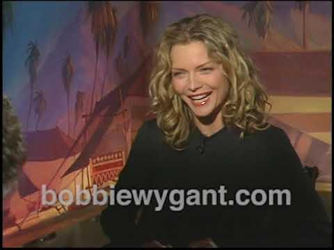"Michelle Pfeiffer ""Prince of Egypt"" 10/22/98 - Bobbie Wygant Archive"