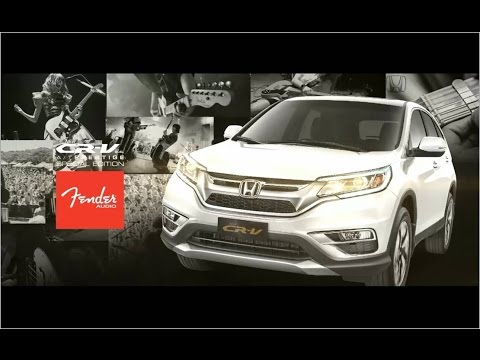 New Honda CR-V 2.4 L AT Prestige Special Edition Fender Audio Commercial