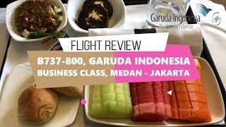 Video Medan - Jakarta | Garuda Indonesia Business Class B737-800 | Fruit Platter in Business Class MP3, 3GP, MP4, WEBM, AVI, FLV Maret 2019