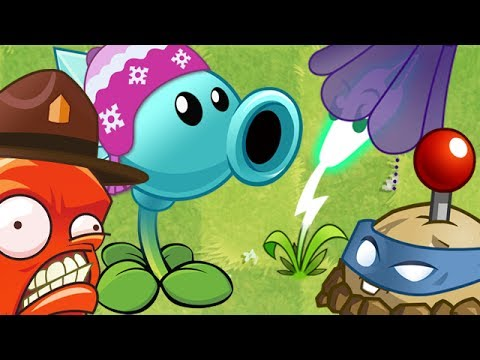 Plants vs. Zombies 2 - Every Plant New Costume!