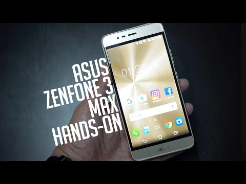 ASUS Zenfone 3 Max Hands-on (ENG+TAG)