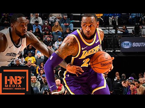 Los Angeles Lakers vs Memphis Grizzlies Full Game Highlights  12.08.2018, NBA Season