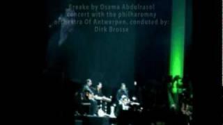 osama abdulrasol Qanun/ kanun with Philharmonic orchestra, osart Video