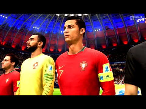 FIFA 18 Iran Vs Portugal FIFA World Cup 2018 || Gameplay 1080p 60fps