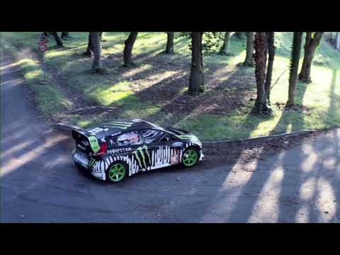 dc shoes: ken block's ford fiesta monster energy!
