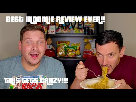 This Is CRAZY!! American Tries Indomie Mi Goreng Instant Noodles (Part 2)