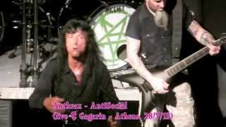 ANTHRAX - AntiSocial (live)