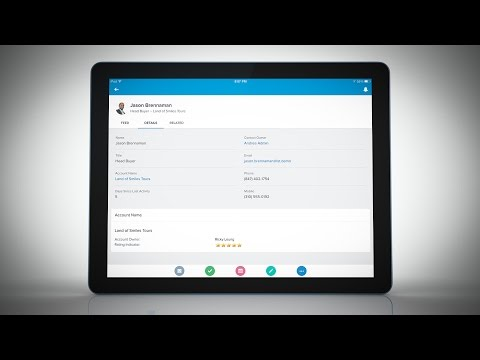 Accounts and Contacts Feature Demo