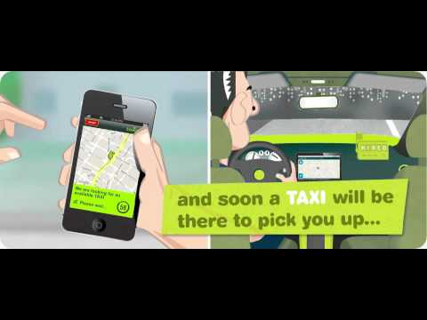 Video of taxiplon passenger