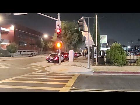East Los Sheriff On Scene