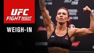 Fight Night Brasilia: Official Weigh-in by UFC