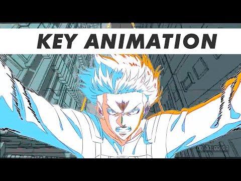 Key animation: Levi vs Kenny scene anime Attack Titan - animation Arifumi Imai