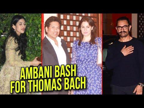 Ambani Bash For Thomas Bach   Aamir Khan, Ratan Ta