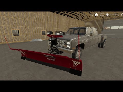 Plow Mount for trucks (with tutorial) v1.0