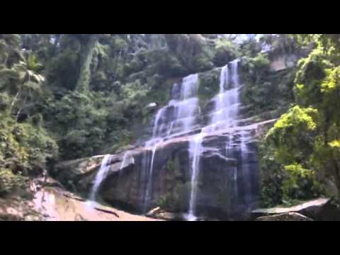 Cachoeira do Chapadão ou Jornada - Reserva Ecológica de Guapiaçu - Cachoeiras de Macacu - RJ.