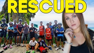 RESCUED: Thai Soccer Team TRAPPED In An Underground Cave For 18 Days