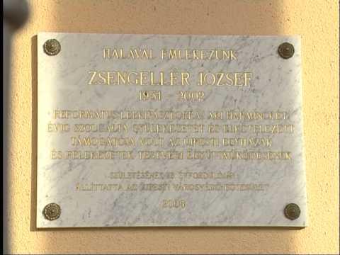 Helytörténetek - A Zsengellér József emléktábla
