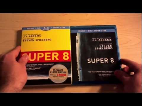 Super 8 Blu-ray Unboxing