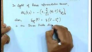 Lec-27 Solution Of Regularization Equation: Greens Function