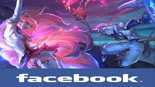 If league of legends Champions had Facebook #89 (New Star Guardian Members)