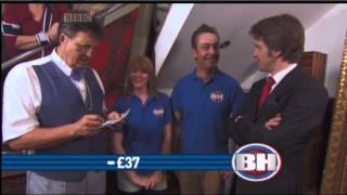A Most Extraordinary Profit – Jonathan weaves his magic on Bargain Hunt!
