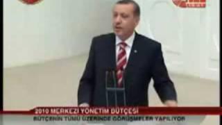2010 merkezi bütçe görüşmelerinde başbakan erdoğan kürt açılım hakkında dobra dobra konuştu..