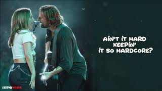 Video Lady Gaga & Bradley Cooper - Shallow ( Lyrics Video ) MP3, 3GP, MP4, WEBM, AVI, FLV Mei 2019