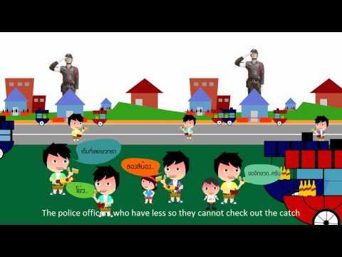 StopdrinkCartoon ตอนที่2 เทศกาลแห่งความสูญเสีย