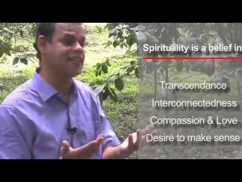 This video briefly introduces the notion of spirituality. Individuals and Business Organizations need to be spiritual in order to even prosper in their materialistic pursuits.