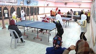 بطولة كرة الطاولة للإناث للمرحلة الثانوية استعدادا للأسبوع الأولمبي الرياضي المركزي