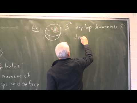 AlgTop5: Two-dimensional objects- the torus and genus