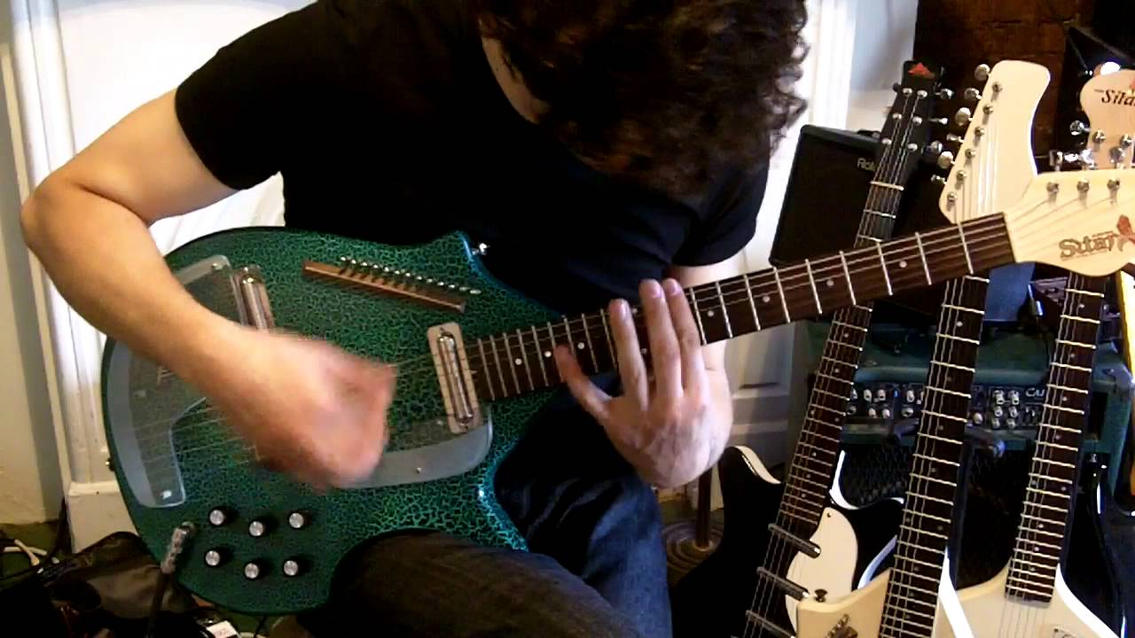"Rob Mastrianni – ""Invisible"" / Electric Harp Guitar / Electric Sitar Guitar / Coral Sitar"