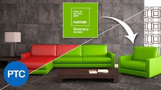 Color Matching in Photoshop Tutorial (Lab Color Mode) - Pantone Color of The Year