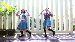 Amai*Pomme halloween night dance cover jkt48