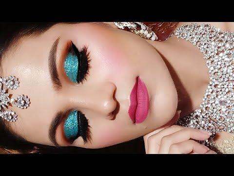 Video INDIAN Muslim BRIDAL Makeup Tutorial In HINDI Full Coverage Waterproof Makeup| Nikaah download in MP3, 3GP, MP4, WEBM, AVI, FLV January 2017