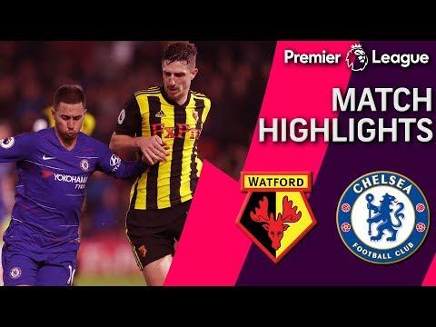 Video: Watford v. Chelsea | PREMIER LEAGUE MATCH HIGHLIGHTS | 12/26/2018 | NBC Sports