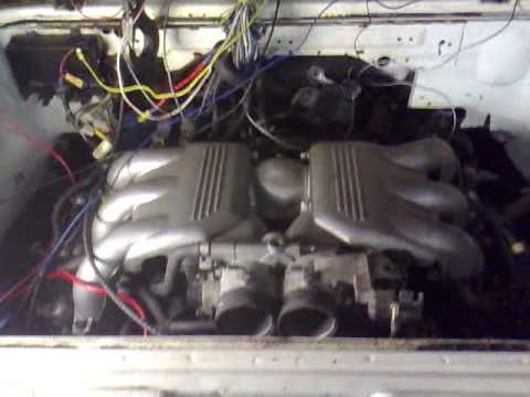 VW T3 Syncro 16 SVX first firing