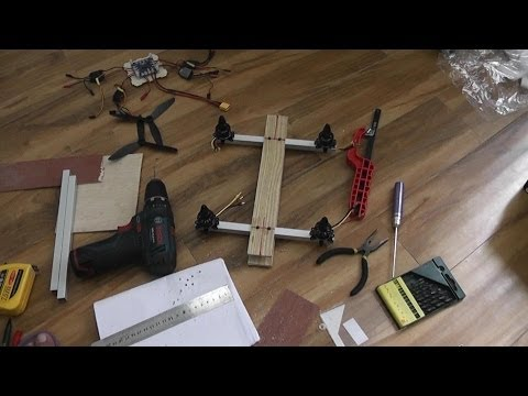How to Build FPV Super Quadcopter in a day (видео)