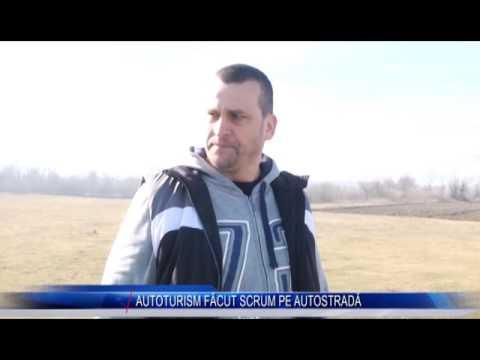 AUTOTURISM FĂCUT SCRUM PE AUTOSTRADĂ
