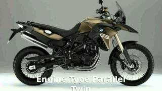 10. 2012 BMW F 800 GS - Specs and Specification