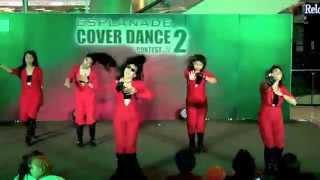 Download Lagu 150405 Light A Black cover 4Minute - Huh + Crazy @Esplanade Cover Dance #2 (Audition) Mp3