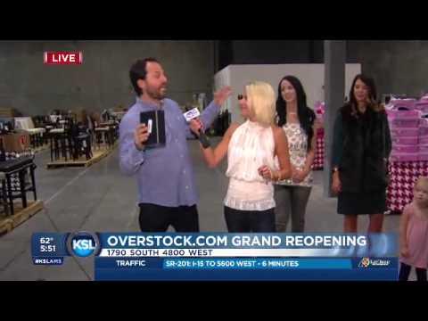 KSL AM goes with Jenn Hardman to the Overstock liquidation sale