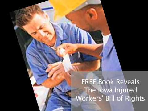 Waterloo Iowa Workers Comp Work Injury Attorney Lawyer Offers Free Book