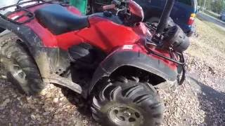 9. 2007 honda foreman 500 4x4 review