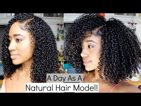 Download Vlog: Natural Hair Modeling| ORS Shoot!! HD Mp4 3GP Video and MP3