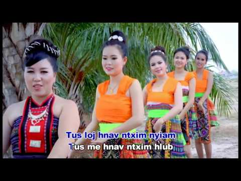 ntxhais paj ntaub by ntxawm ntxuaj pag lauj 2017 (видео)