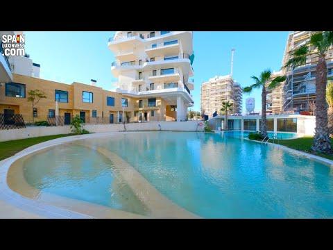 1000000€/1 линия моря/Недвижимость в Испании/Дом Премиум класс/Элитный комплекс в Playa del Torres