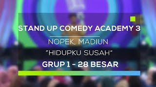 Video Stand Up Comedy Academy 3 : Nopek, Madiun - Hidupku Susah MP3, 3GP, MP4, WEBM, AVI, FLV November 2017