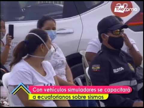 Con vehículos simuladores se capacitará a ecuatorianos sobre sismos
