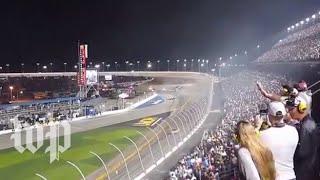 Fans react to NASCAR crash on last lap of Daytona 500